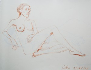 Célia, sanguine